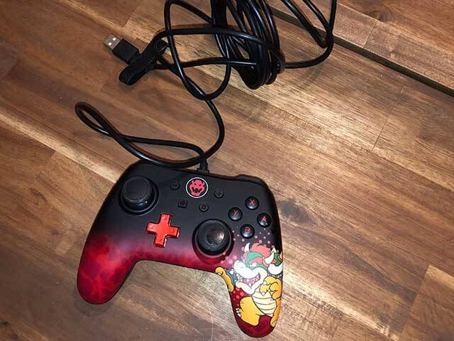 Nintendo Switch Controller Bowser