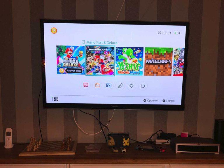 Nintendo Switch an TV anschließen
